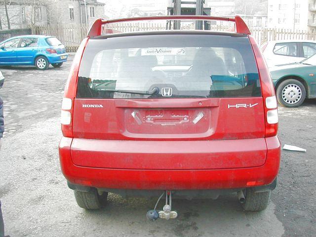 HONDA HR-V  1600 2000 SILVER Automatic Petrol 2Door