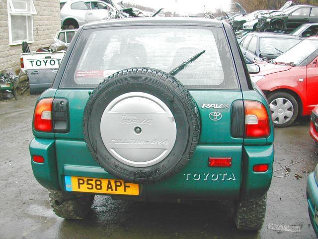 TOYOTA RAV-4  2000 1998 BLACK Manual Petrol 3 Door