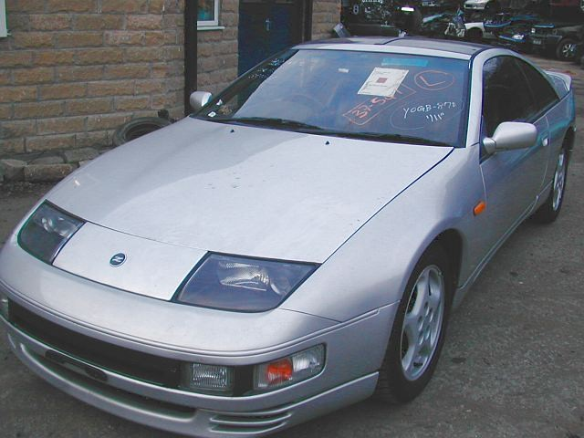 NISSAN 300ZX  3000 1994 SILVER Automatic Turbo Petrol 2Door