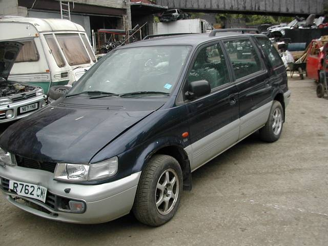 MITSUBISHI SPACEWAGON GDi 2400 1999 BLUE Manual Petrol 5Door