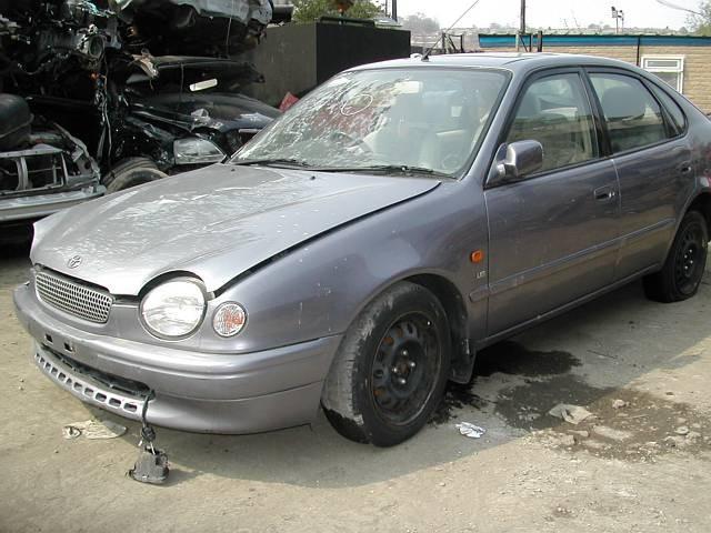 TOYOTA COROLLA GS 1600 1997 RED Manual Petrol 3 Door
