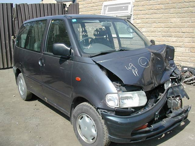 NISSAN SERENA  2000 1997 GREY Manual Diesel -