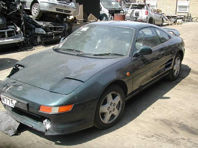 TOYOTA MR2  2000 1998 BLACK Manual Petrol -