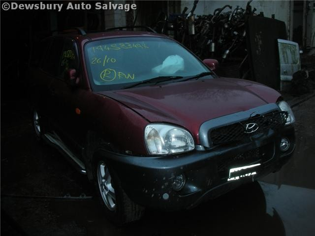 HYUNDAI SANTAFE  2400 2005 GOLD Manual Petrol 5Door