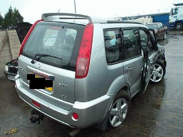 NISSAN X-TRAIL DCi 2200 2006 GREY Manual Petrol 5Door