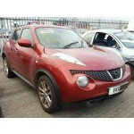 NISSAN JUKE ACENTA 1600 CC PETROL RED BREAKING SPARES NOT SALVAGE 2011