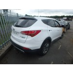 HYUNDAI SANTA FE SANTAFE WHITE 2200 CC 6 SPEED AUTOMATIC DIESEL ESTATE  2012