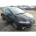 HONDA CIVIC 2200 CC 2010 BLACK BREAKING SPARES NOT SALVAGE