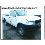 MITSUBISHI L200 DID 2500 CC 4 WORK D-ID S/C WHITE DIESEL PICK-UP TRUCK 2008 BREAKING PARTS