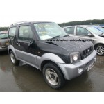 SUZUKI JIMNY 1300 CC 5 SPEED MANUAL PETROL 3 DOOR 2004 BREAKING SPARES NOT SALVAGE