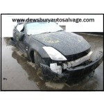 NISSAN 350Z 3500 CC PETROL BLACK BREAKING SPARES NOT SALVAGE 3 DOOR COUPE 2007