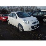 NISSAN MICRA ACENTA 1200 CC MANUAL PETROL HATCHBACK 2011 BREAKING SPARES NOT SALVAGE
