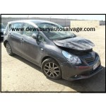TOYOTA VERSO T SPIRIT VALVE 1800 CC 6 SPEED MANUAL PETROL GREY 5 DOOR HATCHBACK 2009.