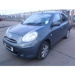 NISSAN MICRA ACENTA CVT 1200 CC AUTOMATIC PETROL HATCHBACK 2012 BREAKING SPARES NOT SALVAGE