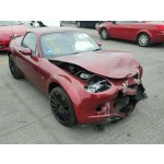 MAZDA MX5 MX-5 SE SPORT CONVERTIBLE 1800 CC 6 SPEED MANUAL RED PETROL BREAKING SPARES 2007