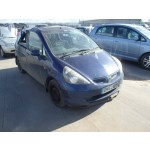 HONDA JAZZ  SE1300 CC BLUE BREAKING SPARES NOT SALVAGE 5 DOOR HATCHBACK 2003