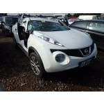NISSAN JUKE ACENTA 1600 CC WHITE PETROL HATCHBACK BREAKING SPARES NOT SALVAGE 2013