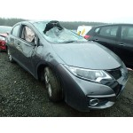HONDA CIVIC 1600 CC i-DTEC SE PLUS GREY 6 SPEED MANUAL DIESEL BREAKING SPARES NOT SALVAGE 2015
