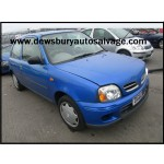 NISSAN MICRA SPORT 1000 CC 5 SPEED MANUAL PETROL 5 DOOR HATCHBACK 2002 BREAKING SPARES NOT SALVAGE