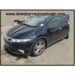 HONDA CIVIC 2200 CC ES I-CTDI BLACK BREAKING SPARES NOT SALVAGE 5 DOOR HATCHBACK 2009