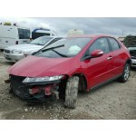 HONDA CIVIC 2200 CC 6 SPEED MANUAL BREAKING SPARES NOT SALVAGE RED 5 DOOR HATCHBACK 2010