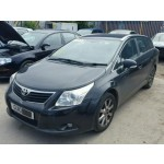TOYOTA AVENSIS 1800 CC AUTOMATIC ESTATE BLACK BREAKING SPARES NOT SALVAGE 2010