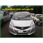 HONDA JAZZ 1300 CC I-VTEC ES MANUAL  PETROL BREAKING SPARES NOT SALVAGE 2013