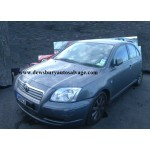 TOYOTA AVENSIS 1800 CC T3-S 5 DOOR HATCHBACK 2003 BREAKING SPARES NOT SALVAGE