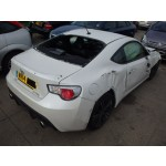 TOYOTA GT86 D-4S AUTOMATIC WHITE COUPE 2014 BREAKING SPARES PARTS