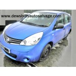 NISSAN NOTE VISIA 1400 CC PETROL MANUAL 5 DOOR MPV 2009 BREAKING SPARES NOT SALVAGE