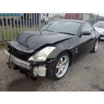 NISSAN 350Z 350 Z 350-Z 3500 CC PETROL BLACK BREAKING SPARES NOT SALVAGE 2 DOOR CONVERTIBLE  2004