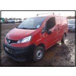 NISSAN NV200 SE DCI RED 1500 CC CAR DERIVED VAN BREAKING SPARES NOT SALVAGE 2012