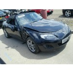 MAZDA MX5 MX-5 SE CONVERTIBLE 1800 CC MANUAL BLACK PETROL BREAKING SPARES 2010