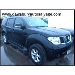 NISSAN PATHFINDER TEKNA DCI 2500 CC 2009 DIESEL ESTATE BREAKING PARTS BLACK