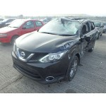 NISSAN QASHQAI 1200 CC ACENTA BLACK MANUAL BREAKING SPARES NOT SALVAGE 2014