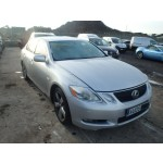 LEXUS GS430 GS 430 SILVER BREAKING SPARES NOT SALVAGE 4 DOOR SALOON 2005