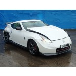 NISSAN 370Z 370 Z 370-Z 3700 CC NISMO PETROL WHITE BREAKING SPARES NOT SALVAGE COUPE 2014