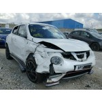 NISSAN JUKE NISMO 1600 CC PETROL WHITE BREAKING SPARES NOT SALVAGE 2017