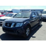 NISSAN NAVARA 2500 CC DIESEL PICKUP BREAKING PARTS 6 SPEED MANUAL 2010