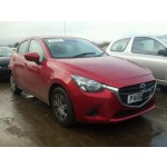 MAZDA 2 SE 1500 CC RED PETROL 5 DOOR HATCHBACK BREAKING SPARES PARTS 2017
