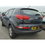KIA SPORTAGE 1700 CC 6 SPEED BLACK MANUAL DIESEL BREAKING SPARES NOT SALVAGE 2015