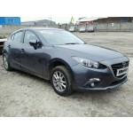 MAZDA 3 1500 CC SE GREY BREAKING SPARES NOT SALVAGE 5 DOOR HATCHBACK 2014