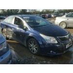 TOYOTA AVENSIS TR 1800 CC AUTOMATIC 4 DOOR SALOON BLUE BREAKING SPARES NOT SALVAGE 2011