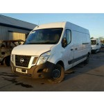 NISSAN NV400 SE WHITE 2300 CC DERIVED PANEL VAN MANUAL BREAKING SPARES NOT SALVAGE 2017