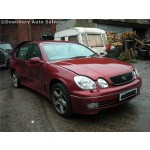 LEXUS GS300 cream leather 3000 2001 Maroon Automatic Petrol 4Door