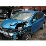 NISSAN NOTE 1600 BLUE AUTOMATIC PETROL 5 DOOR 2009