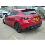 MAZDA 3 2000 CC SPORTS RED BREAKING SPARES NOT SALVAGE 5 DOOR HATCHBACK 2016