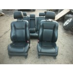 TOYOTA AVENSIS D4D BLACK LEATHER SEATS INTERIOR 2003- 2008.