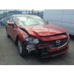 MAZDA 6 SE MANUAL RED BREAKING SPARES NOT SALVAGE 4 DOOR SALOON 2015