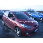 MAZDA 2 1300CC 2011 MAROON MANUAL PETROL 5DOOR.
